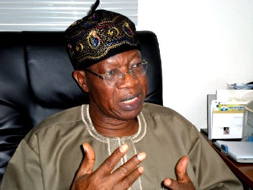 """Nobody Can Stop FG From Probing #EndSARS Protesters"" - Lai Mohammed Declares"