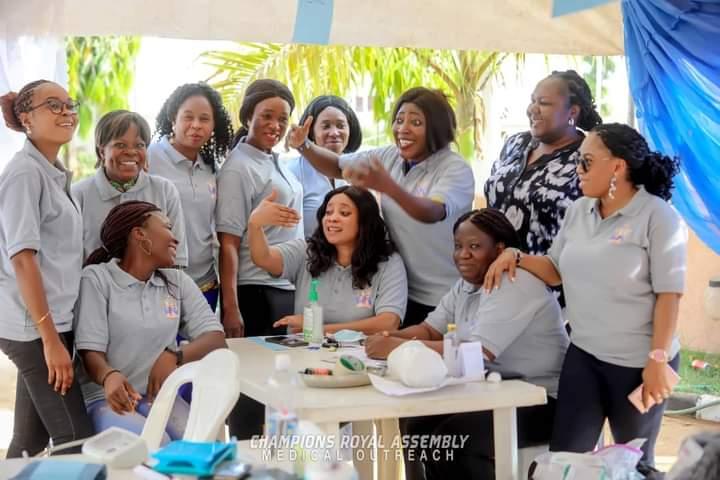 Joshua Iginla, US medical Team Offer Free healthcare For All