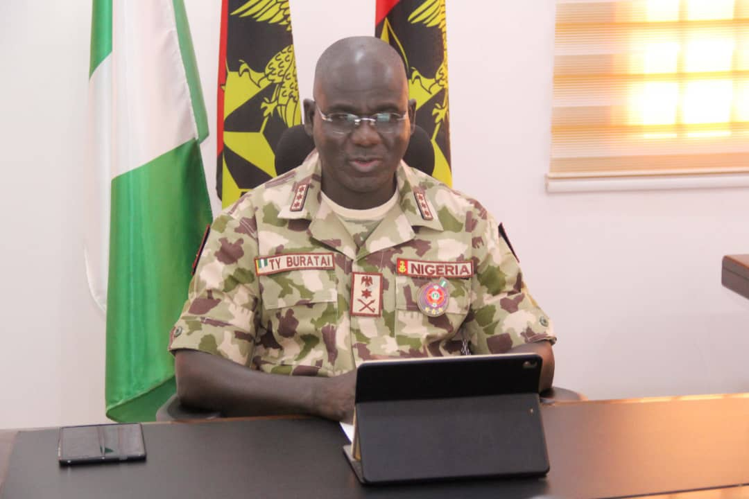 *Army professionalism has curbed Nigeria's multiple Security Challenges,  Buratai Commends Officers and Soldiers*