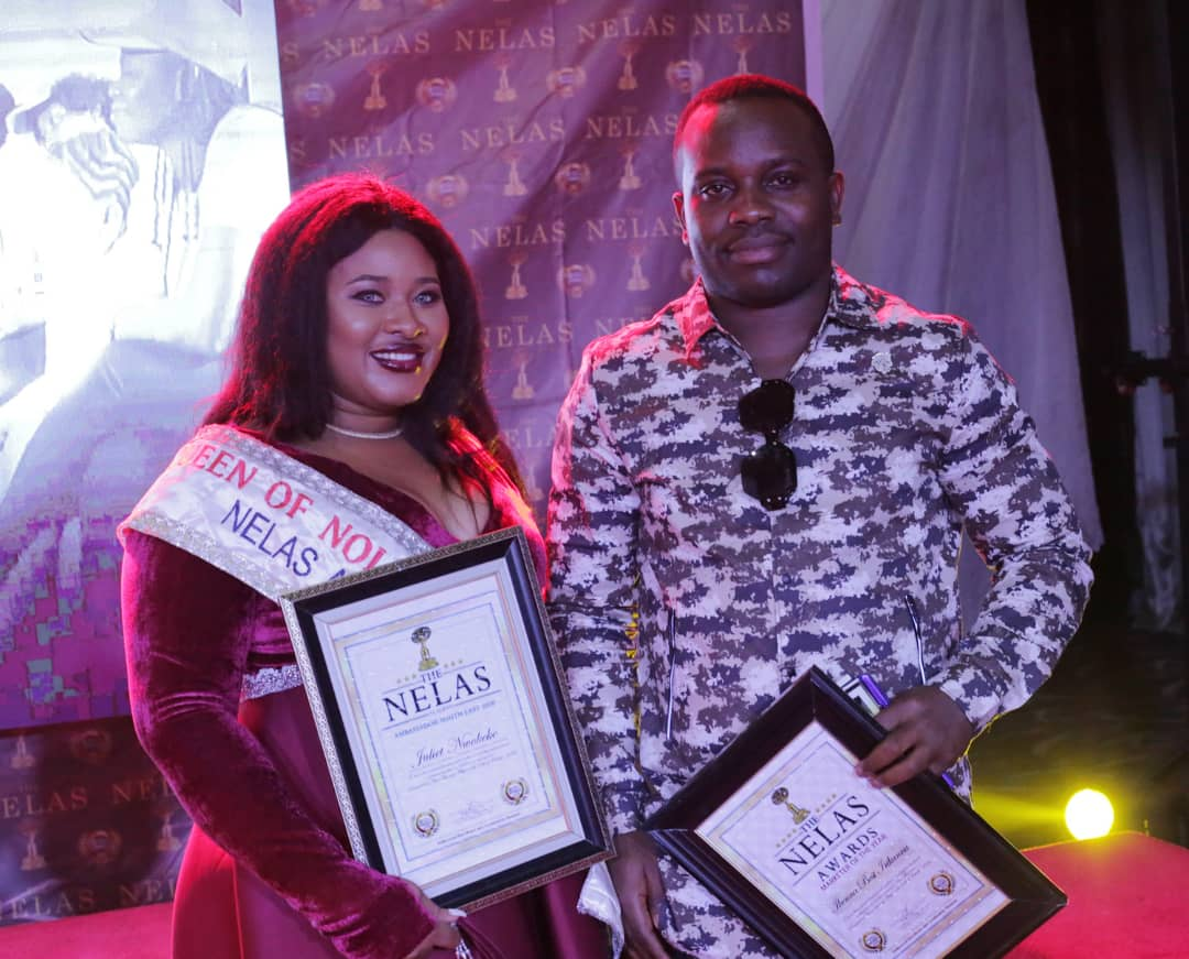 """The CEO of Best movies Production limited, Mr Ikenna Irikannu popularly known as MR BEST has won """"Nollywood Marketer of the year Award"""" for the second time at the just concluded NELAS AWARDS in Abuja."""