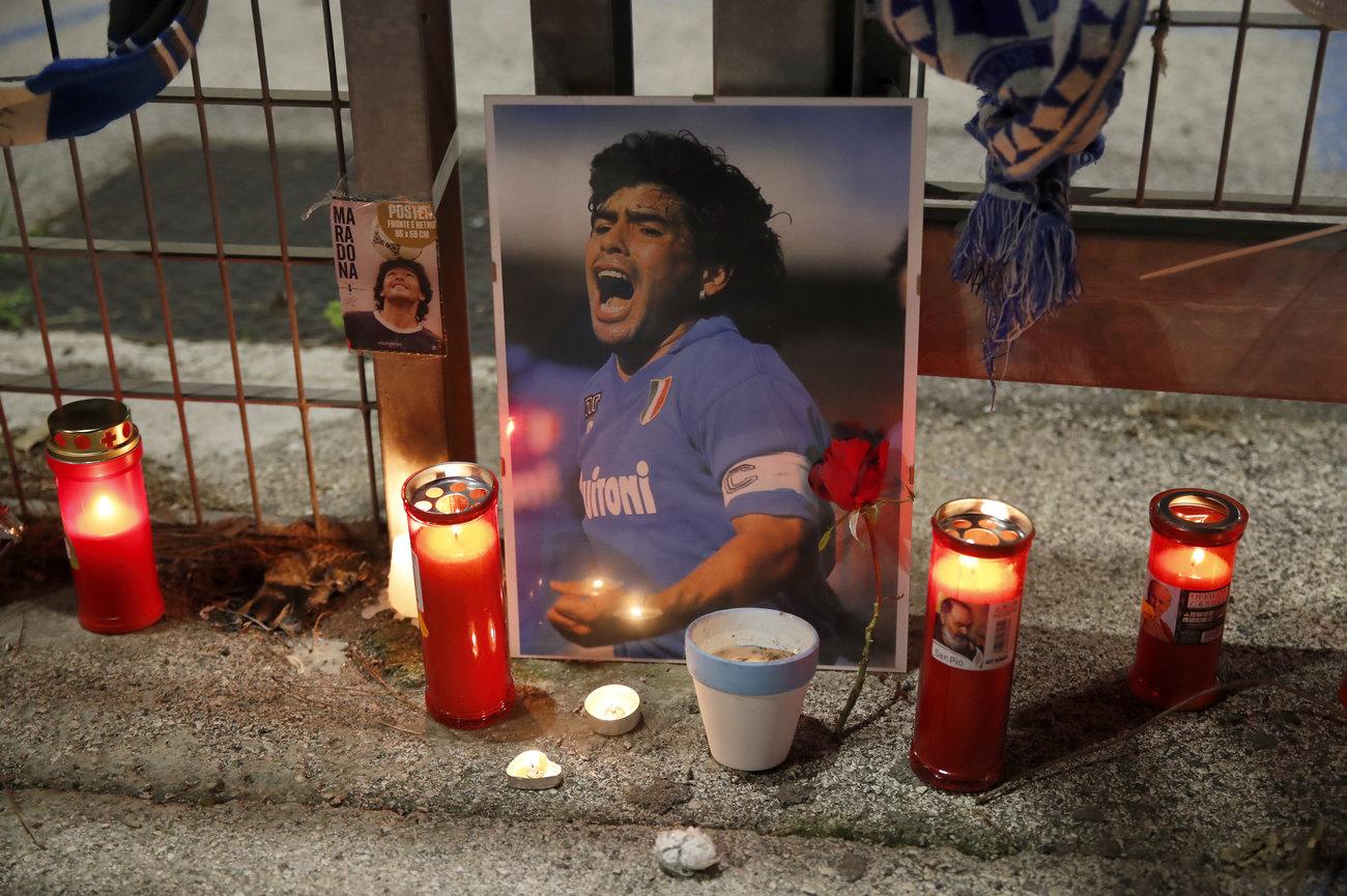 Photos: Memorable Moments Of Football Legend, Maradona