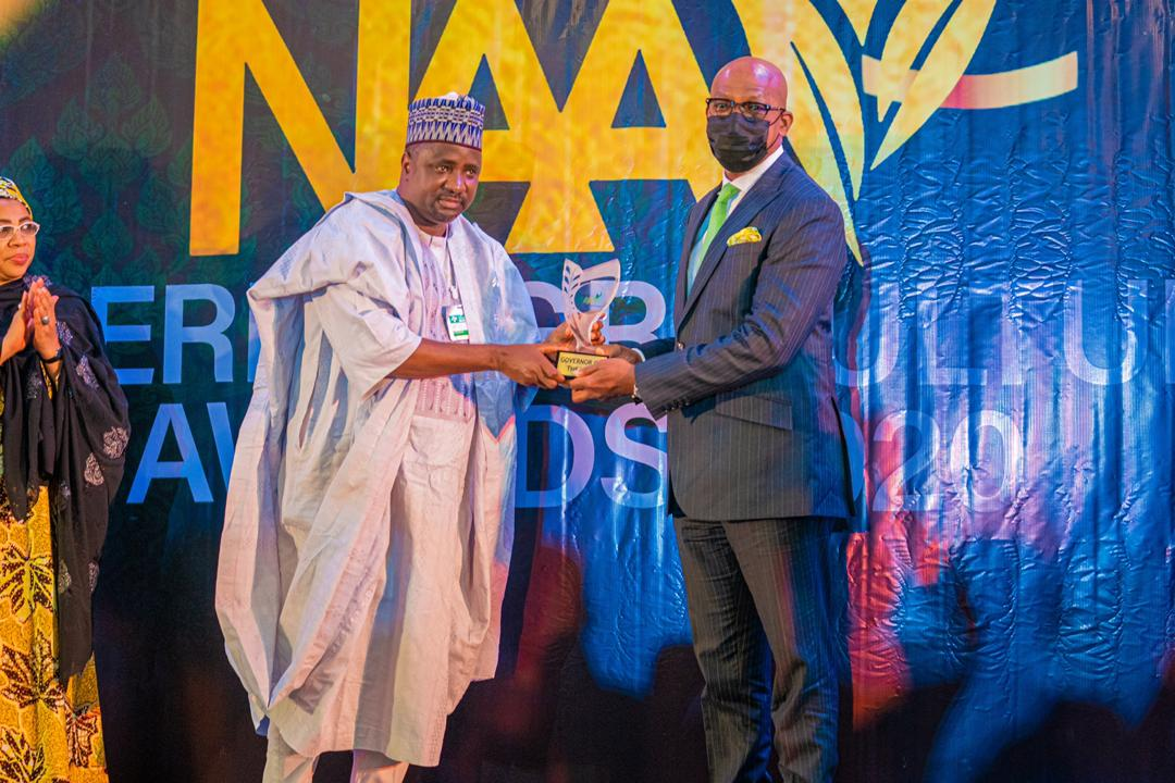 Gov. Abiodun Receives Governor Of The Year 2020