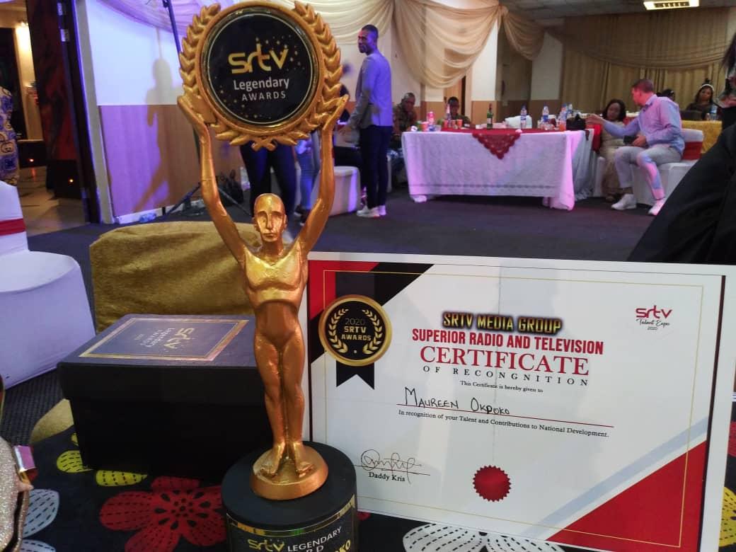 Barr. Olumide Akindiya Congratulates Nollywood Actress, Maureen Okpoko on Her Award