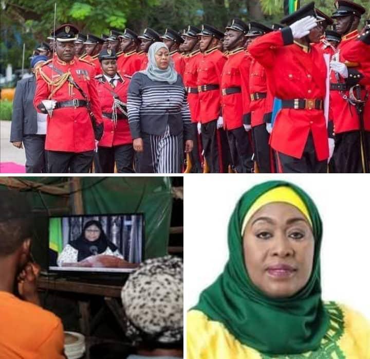 Meet The First Female President In Tanzania!
