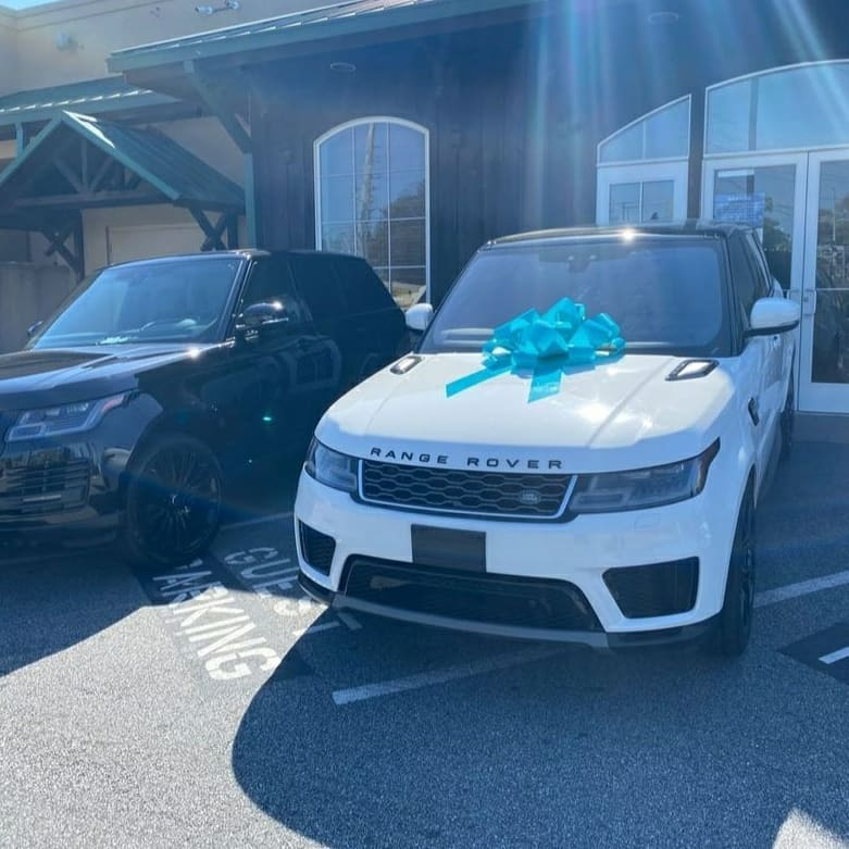 Davido's Brother Dazzles Wife with New RangeRover(Photos)