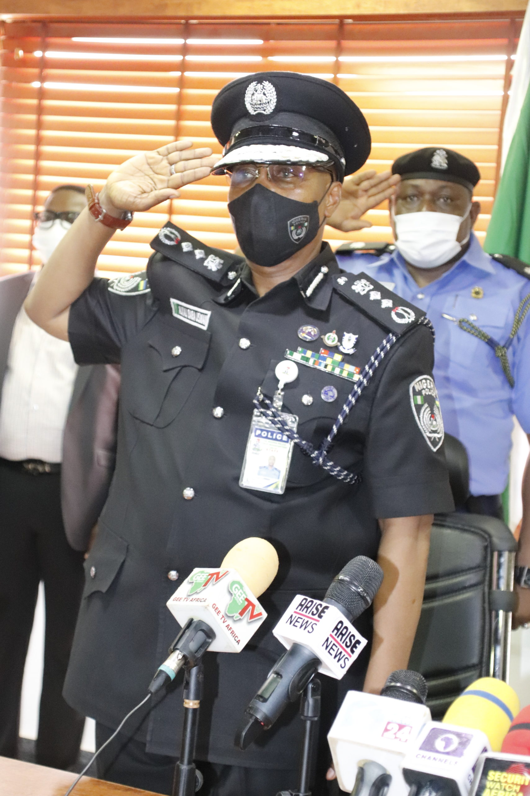IGPUSMANALKALIBABAASSUMES DUTY AS THE NEW INSPECTOR GENERAL OF POLICE