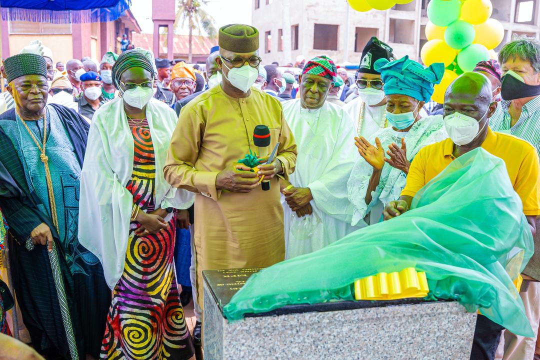Ogun: Abiodun commissions city centre road in Abeokuta