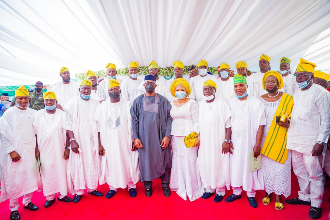 Abiodun inaugurates 20 LG chairmen, charges them to provide good governance