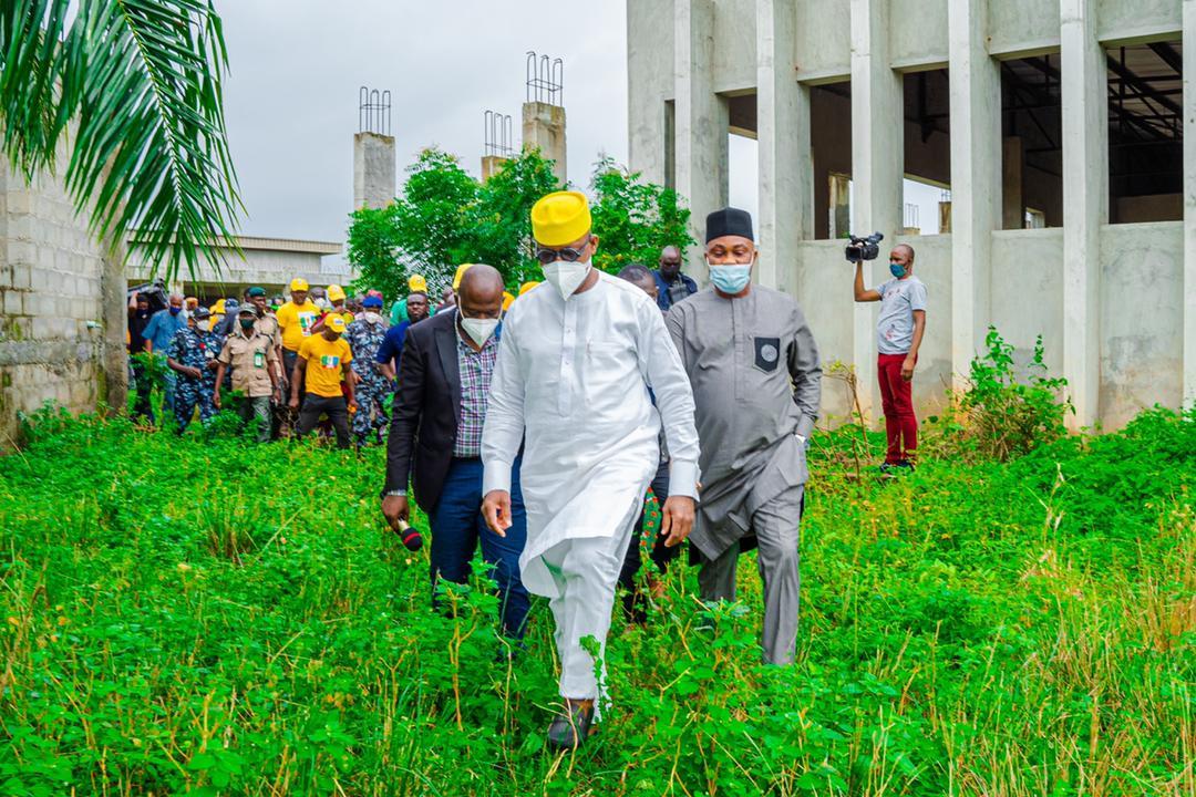 Abandoned Ogun Roads Receive Govt's Attention