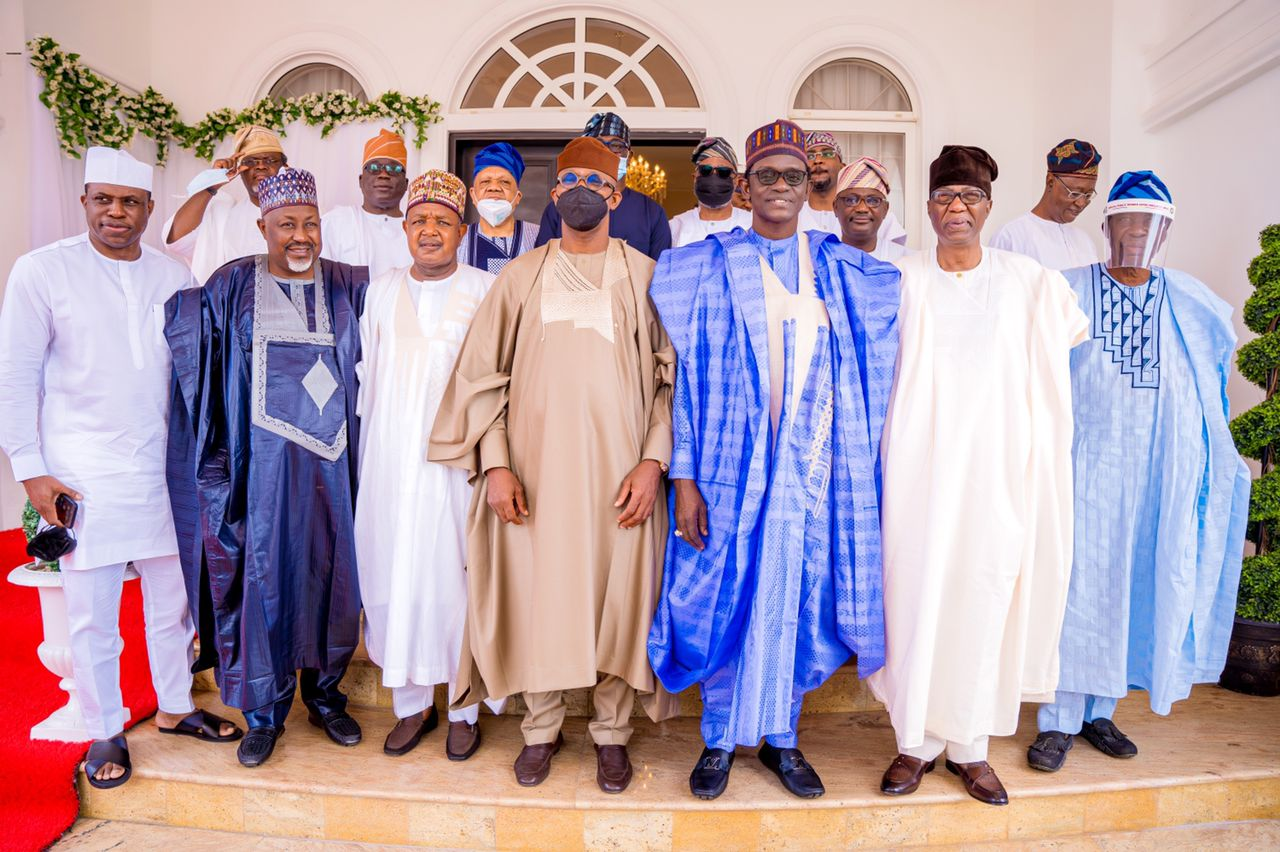Buni, Bagudu, Abubakar, others visit Abiodun over father's death
